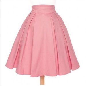 Little Jun Skirt in Pale Rose Pink Large